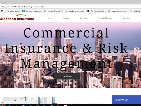 Aleckson Insurance Launches New Website