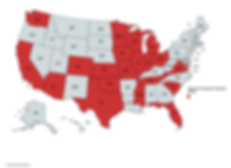 Aleckson Insurance Licensed States.png