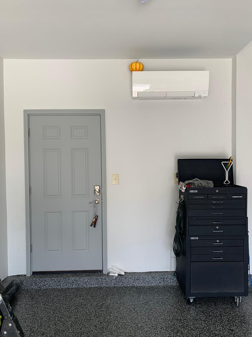 Garage Ductless Mini Split