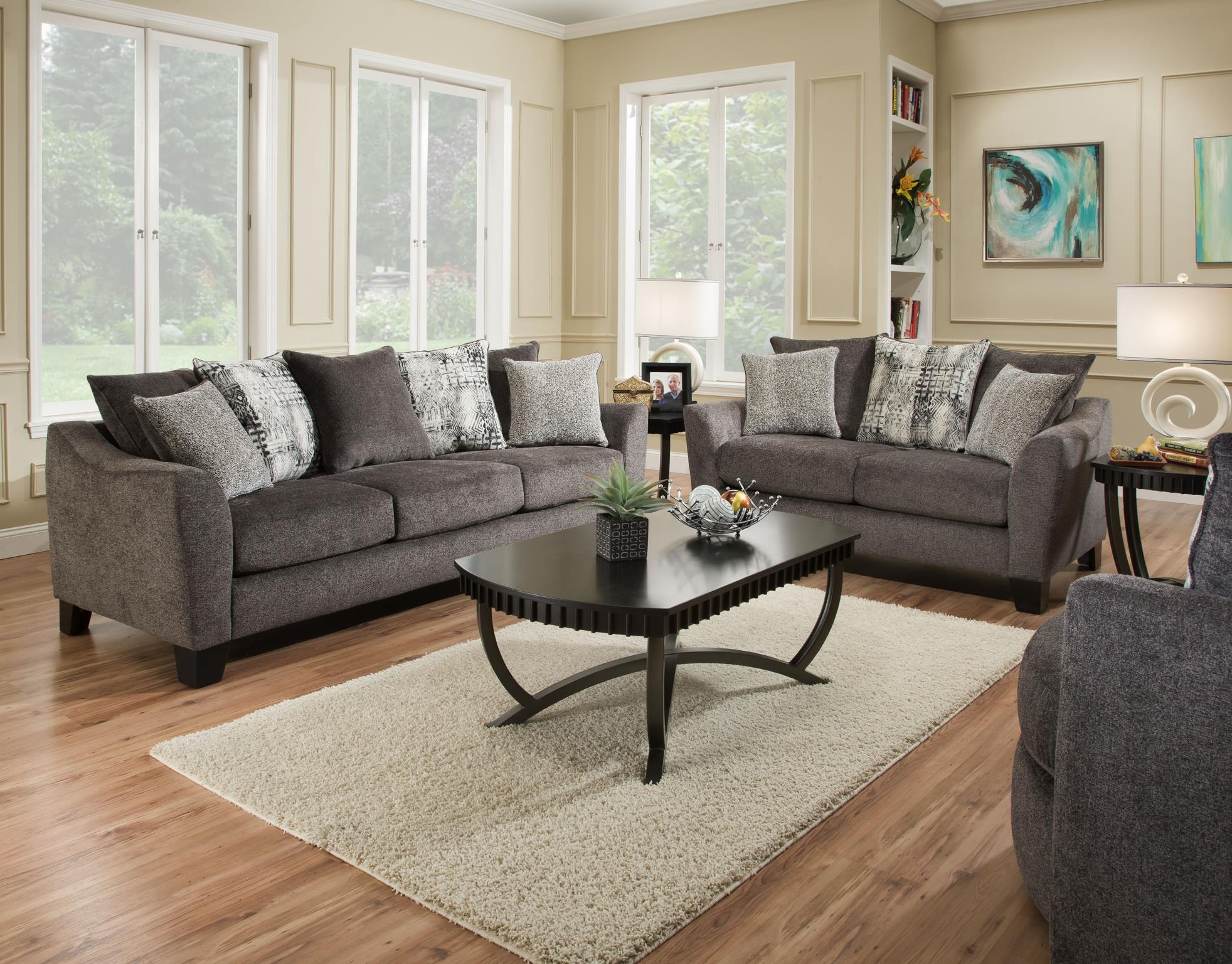 tremont slate sofa loveseat