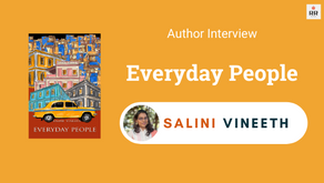 Interview with Salini Vineeth, The Author of Everyday People