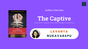 Author Interview: Lavanya Nukavarapu