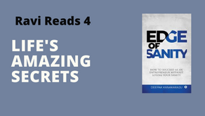 Ravi Reads 4: Edge of Sanity - How to Succeed as an Entrepreneur without Losing Your Sanity