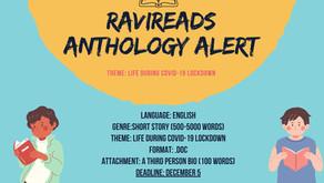 Ravi Reads Anthology Alert