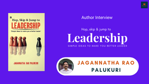 Author Interview: Jagannatha Rao Palukuri