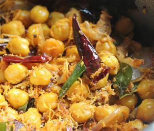 Chickpeas Sundal – Navarathri Festival