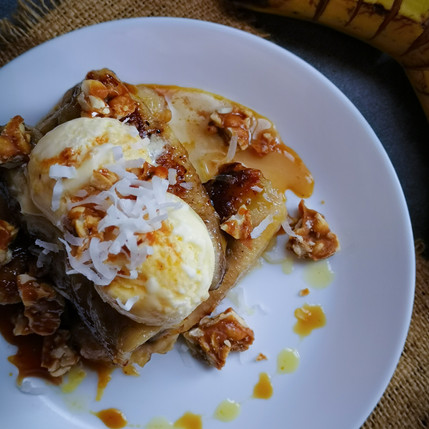 Grilled Banana - Indonesian Style
