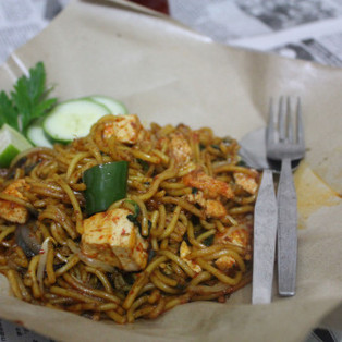 Mamak Style Vegetarian Fried Noodles