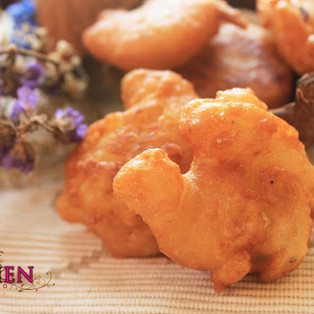 Cucur Manis (Sweet Coconut Fritters)