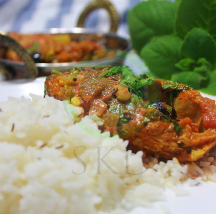 Yogurt Fish Curry