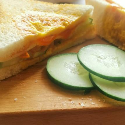 Kavinash Corner's : Simple Egg Sandwich