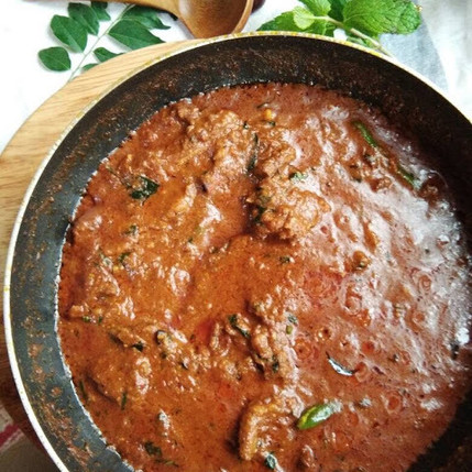 Mutton Chops Curry