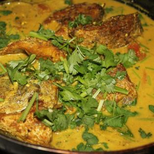 Fish in Coconut Gravy