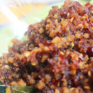 Crushed Spicy Salted Fish