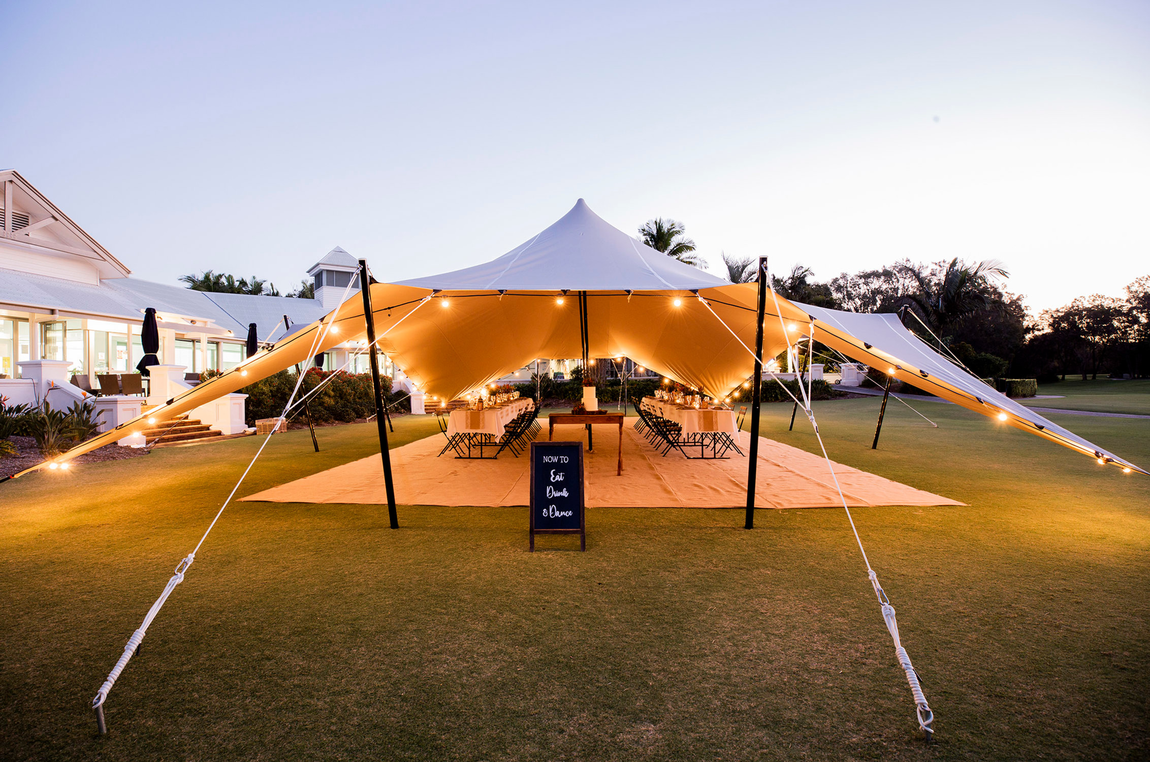 Stretch Marquee Hire