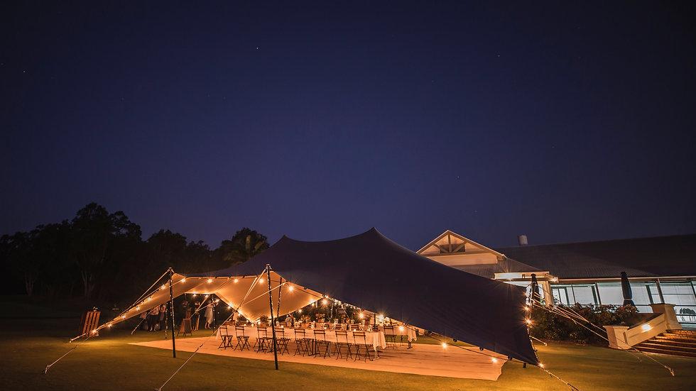 50m Festoon lighting (HIRE)