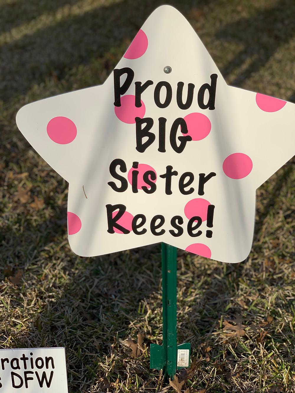 sister sibling sign
