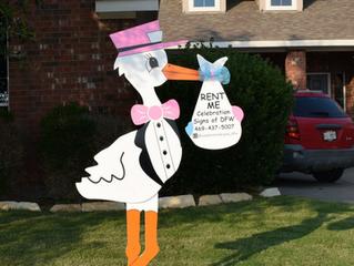 Rent Me! Storks, Cupcakes, Flamingos!