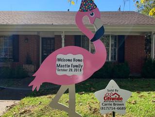 Welcome home Mastin Family!