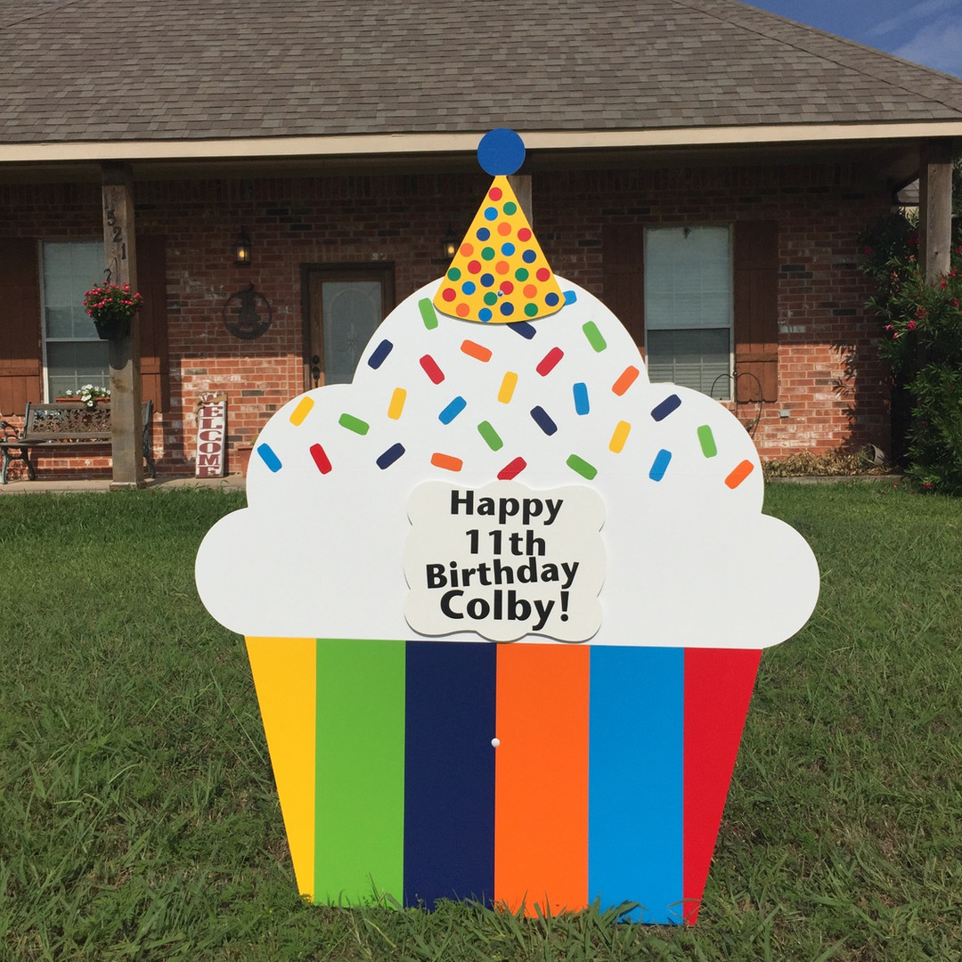 Birthday Cupcake Boy