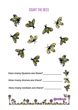 Count the bees