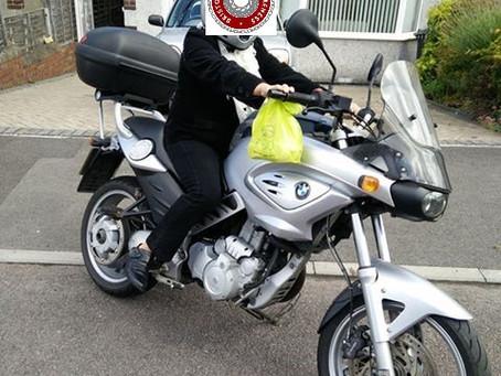STOLEN-BMW-F650CS-ST53PNZ-Crime Ref:5219124131