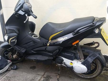 STOLEN - Gilera - Runner 50cc - WX12 AOY - Crime Ref: 5219131938