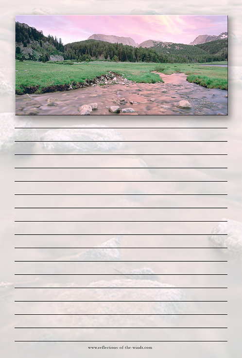 Note Pad - 6x9, Mountain Magic