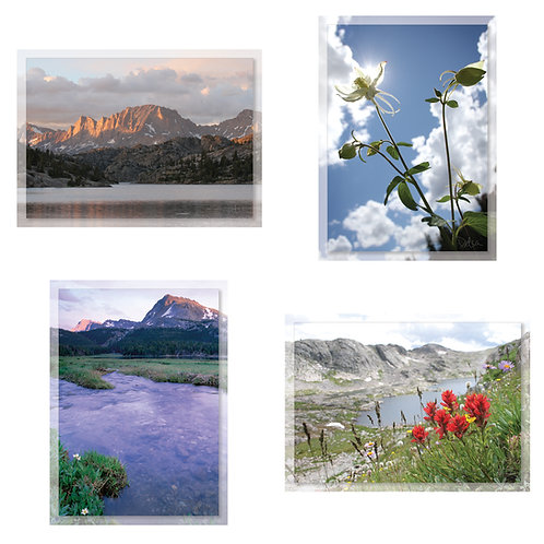 Greeting Card Set (8 cards), Wind River Range