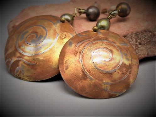 Sea Prairie, earrings