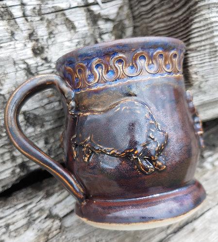 Purple Bison Mug