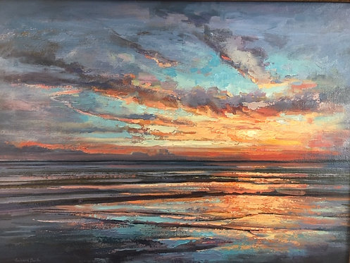 Aspiration, oil on canvas