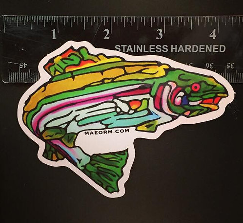 Art stickers, 5 different options