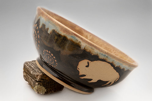 Small Bison Bowl