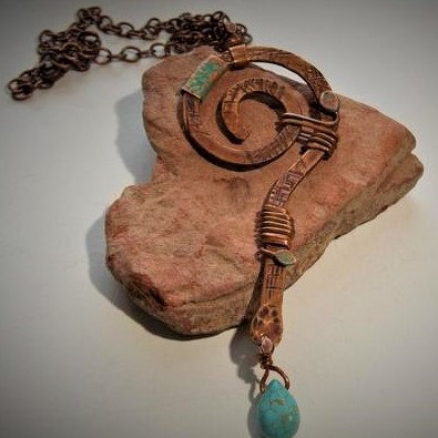 Spiral-Life's Path necklace
