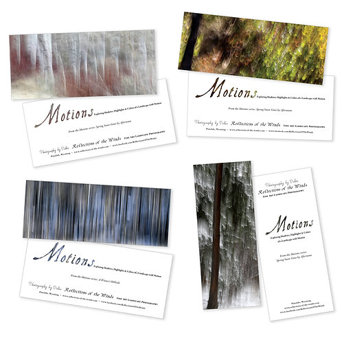 Greeting Card Set (8 cards), Motions