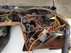76' behind dash wiring loom 4