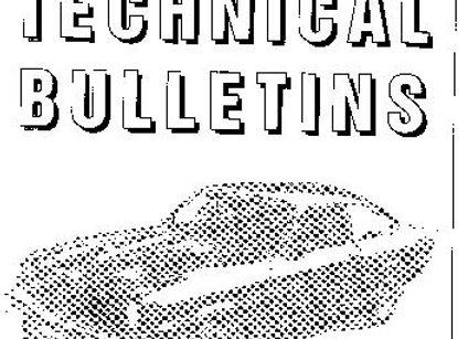 Tech Bulletin Set