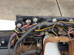 76' behind dash wiring loom 5