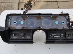 76' dash with gauges
