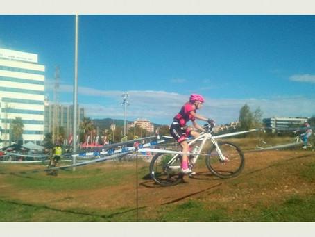 Candela Álvarez sube al podio en la Copa Catalana de ciclocross de Sant Joan Despí