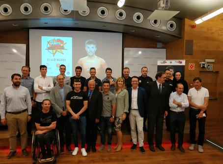"""La Purito Andorra conmemora en Andbank la 5ª edición de la marcha cicloturista de Joaquim """"Purito"""" R"""