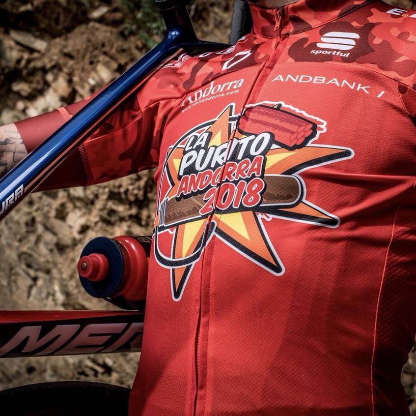 Nuevo maillot La Purito Andorra 2018