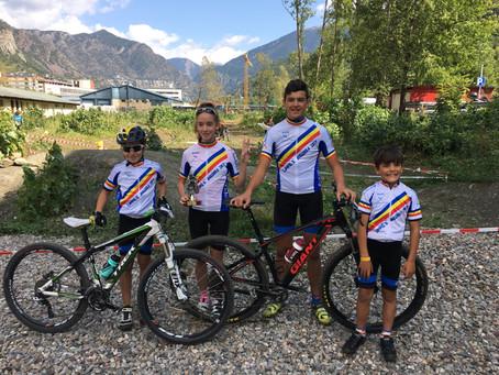 5 integrantes de la Escuela Purito - Sprint Club Andorra se proclaman Campeones de Andorra 2017
