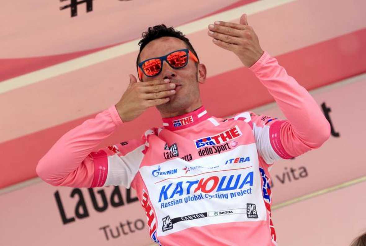 2º en el Giro d'Italia 2012