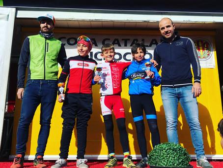 Gerard Mora sube al podio en el ciclocross de Vic