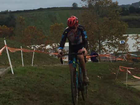 Enric Bregolat 8º en el Ciclocross Internacional de las Franqueses del Vallès - Cadetes