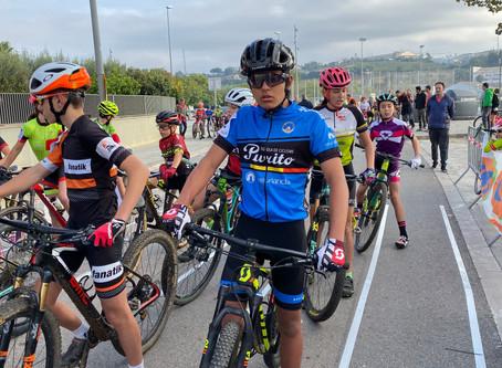 Gran papel de los hermanos Delgado en la Copa Catalana de ciclocrós con podio de Marc en Manlleu