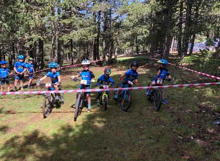 La Escuela Purito destaca en el Open de Andorra de BTT Infantil celebrado en Naturlandia