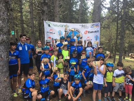La Escuela Purito destaca en el Open de Andorra de BTT Infantil 2018